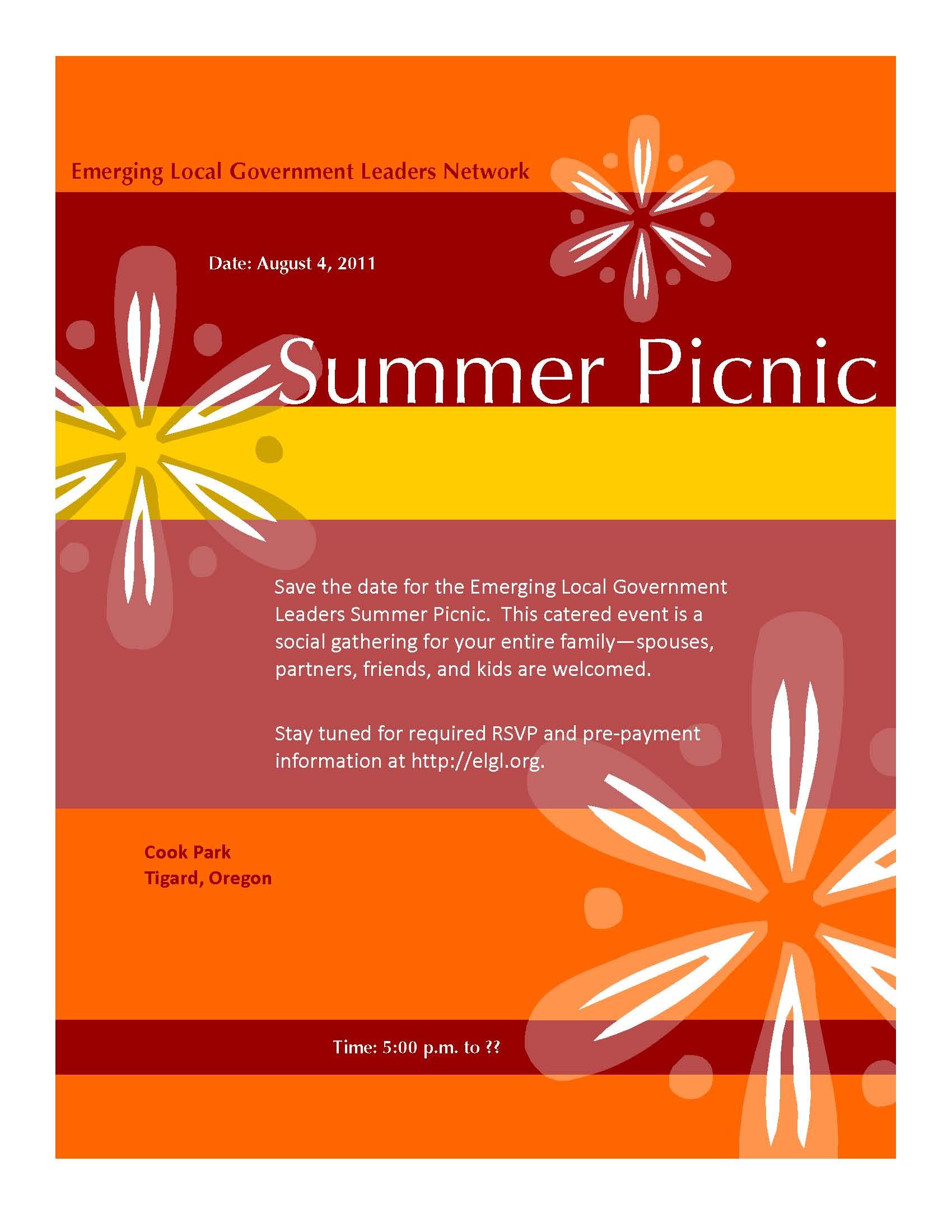 Company Picnic Flyer Picnic flyers backgrounds.