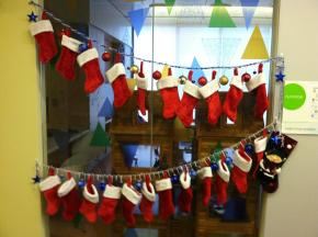 Updated (12/6): Decking the Halls at Randall Children's Hospital (Pics)