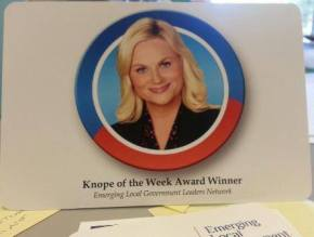 Knope of the Week: Bonnie Svrcek, ICMA President and Lynchburg (VA) Deputy City Manager