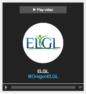 ELGL's Twitter Becomes a Video